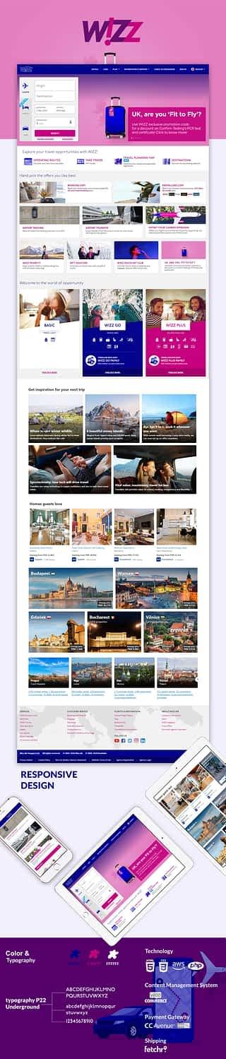 wizz-air-B2B-B2C-eCommerce Portal